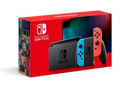 """Nintendo Switch (New revised model) console da gioco portatile Nero, Blu, Rosso 15,8 cm (6.2"""") 32 GB Wi-Fi"""