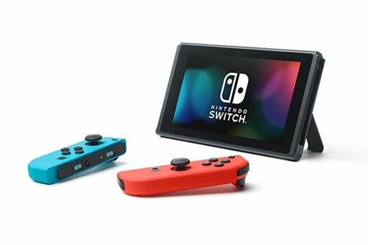 """Nintendo Switch (New revised model) console da gioco portatile Nero, Blu, Rosso 15,8 cm (6.2"""") 32 GB Wi-Fi - 2"""