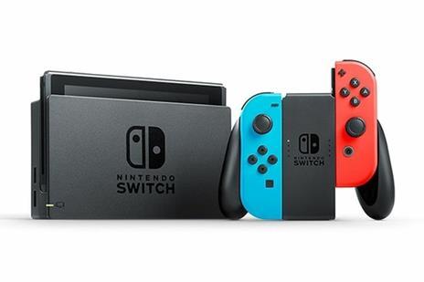 """Nintendo Switch (New revised model) console da gioco portatile Nero, Blu, Rosso 15,8 cm (6.2"""") 32 GB Wi-Fi - 4"""