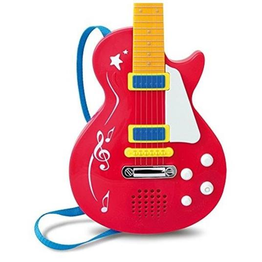 Toy Band Star. Chitarra Rock Elettronica con Effetto Whammy. Bontempi (24 5831) - 2