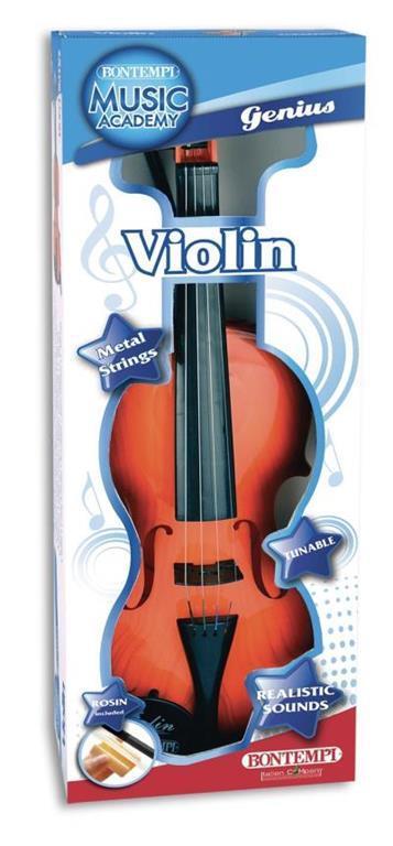 Toy Band Star. Violino Classico a 4 Corde di Metallo Accordabile. Bontempi (29 1100)