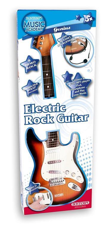 Toy Band Star. Chitarra Elettrica con Tracolla e Microfono. Bontempi (24 1310) - 3