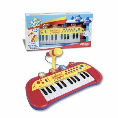 Toy Band Star. Tastiera Elettronica a 24 Tasti con Microfono. Bontempi (12 2931) - 18