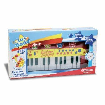 Toy Band Star. Tastiera Elettronica a 24 Tasti con Microfono. Bontempi (12 2931) - 19