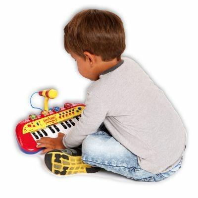 Toy Band Star. Tastiera Elettronica a 24 Tasti con Microfono. Bontempi (12 2931) - 20