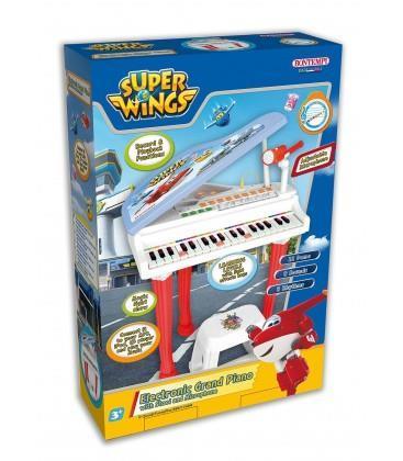 Pianoforte a Coda Super Wings Elettronico con Microfono e Sgabello