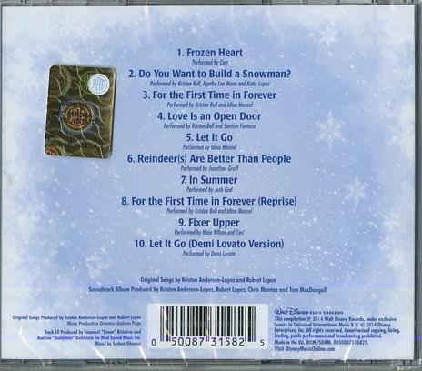 Frozen. The Songs (Colonna sonora) - CD Audio - 2