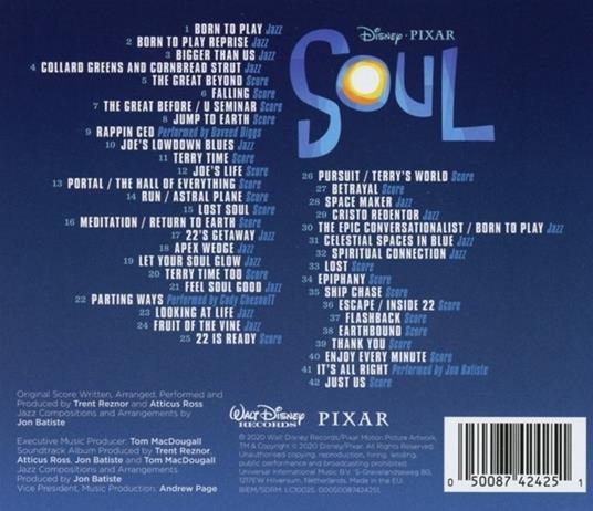 Soul (Colonna Sonora) - CD Audio - 2