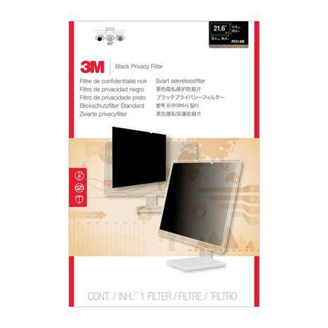 """3M PF21.6W Filtro Privacy per monitor LCD widescreen 21.6"""" computer da tavolo"""