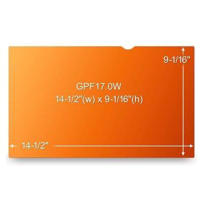 3M GPF17.0W Filtro Privacy Oro per computer portatile widescreen 17.0 - 2