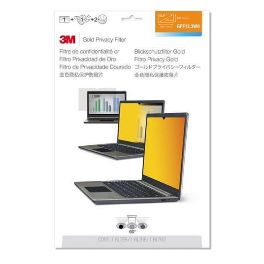 3M GPF13.3W9 Filtro Privacy Oro per computer portatile widescreen 13.3