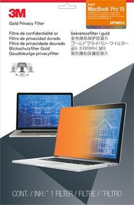 3M GPFMR15 Filtro Privacy Oro per Apple MacBook Pro 15 pollici con display Retina