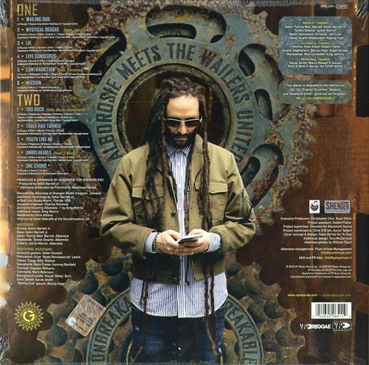 "Unbreakable (LP + 7"") - Vinile LP + Vinile 7"" di Wailers,Alborosie - 2"