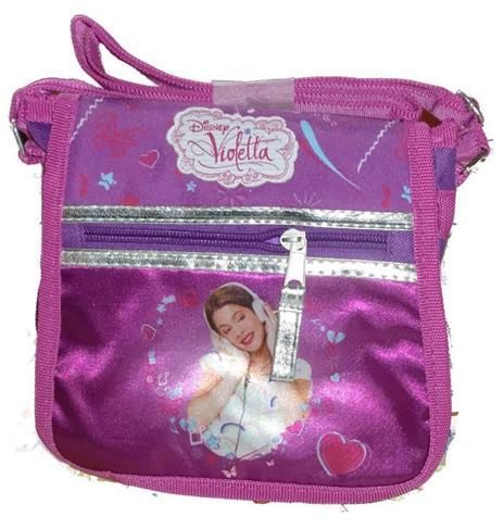 Kids Disney Violetta Bag Style Tracollina Borsa Tracolla Nuova - 2