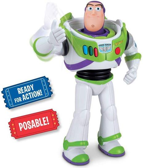 Toy Story 4 Fig. Buzz Lightyear Karate Chop Azione