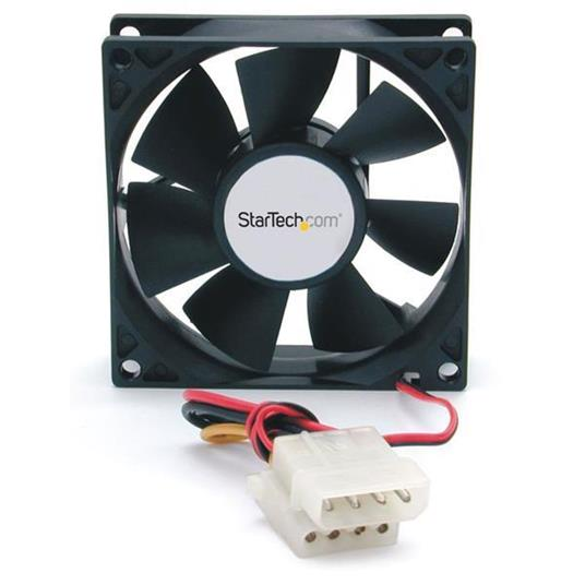 StarTech.com Ventola computer con doppio cuscinetto a sfera 80x25mm con connettore LP4