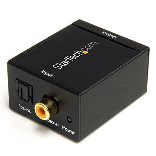 StarTech.com Convertitore audio da coassiale digitale SPDIF o ottico Toslink a RCA stereo