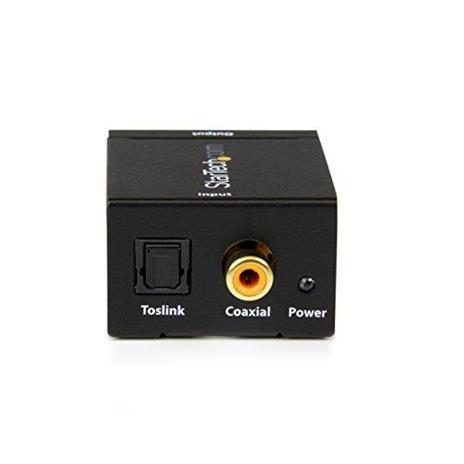 StarTech.com Convertitore audio da coassiale digitale SPDIF o ottico Toslink a RCA stereo - 2