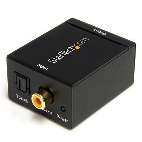 StarTech.com Convertitore audio da coassiale digitale SPDIF o ottico Toslink a RCA stereo - 5
