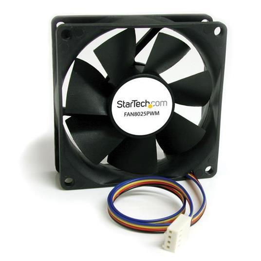 StarTech.com Ventola per case, connettore PWM (Pulse Width Modulation) 80x25mm