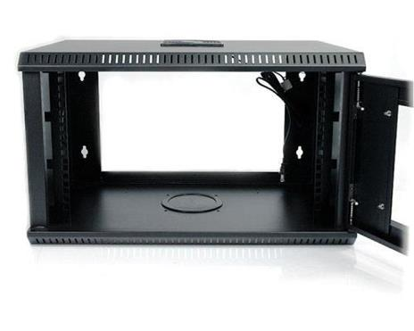 StarTech.com Armadio server rack montaggio a parete 6U 50 cm ca. con sportello in acrilico - 5