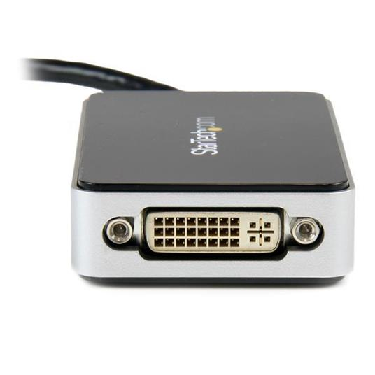 StarTech.com Adattatore scheda video esterna per più monitor USB 3.0 a DVI con hub USB a 1 porta – 1920x1200 - 3