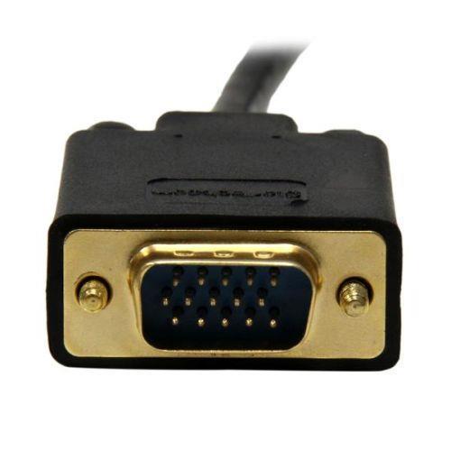 StarTech.com Cavo convertitore adattatore Mini DisplayPort a VGA da 91 cm – mDP a VGA 1920x1200 - Nero - 3