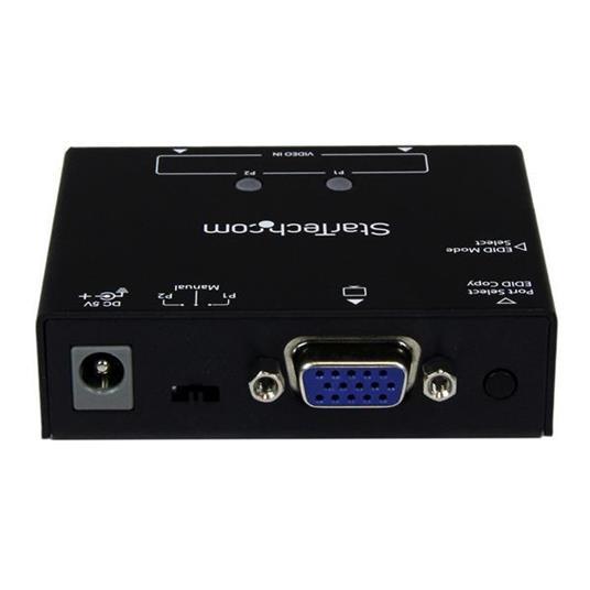 StarTech.com Switch box automatico VGA a 2 porte con commutazione per priorità e copia EDID commutatore video - 3