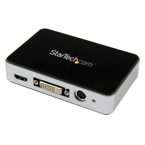StarTech.com Scheda Acquisizione Video Grabber / Cattura video esterna USB 3.0 - HDMI / DVI / VGA / Component HD - 1080p 60fps