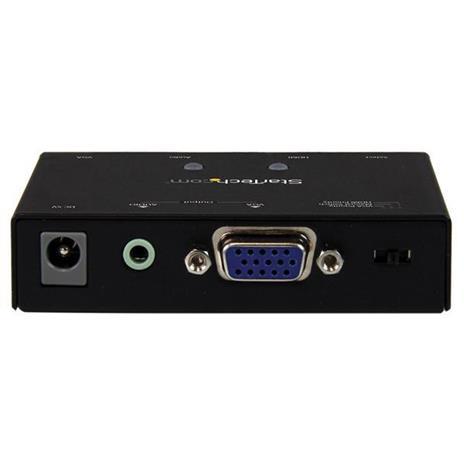StarTech.com Switch Commutatore 2x1 VGA + HDMI a VGA - Switch Convertitore HDMI / VGA a VGA con commutazione prioritaria - 1080p commutatore video - 2