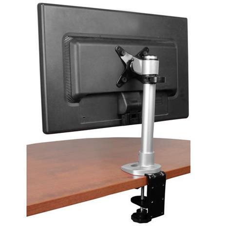 StarTech.com Supporto per Monitor con altezza regolabile - Braccio porta Monitor LCD LED con gancio per gestione cavi - 2