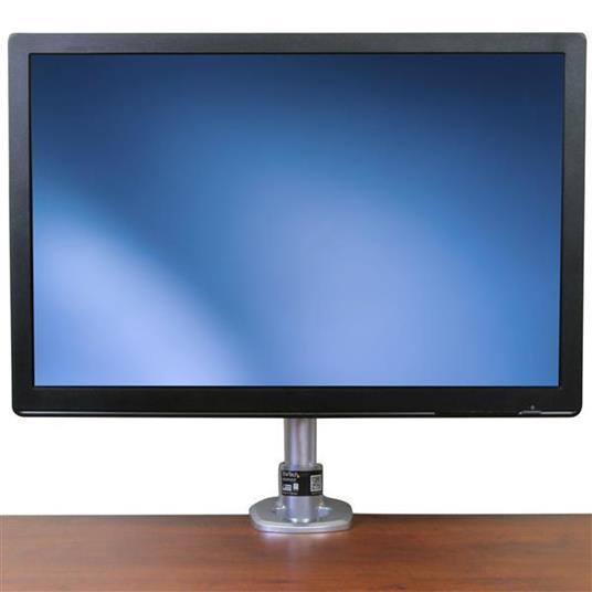 StarTech.com Supporto per Monitor con altezza regolabile - Braccio porta Monitor LCD LED con gancio per gestione cavi - 3