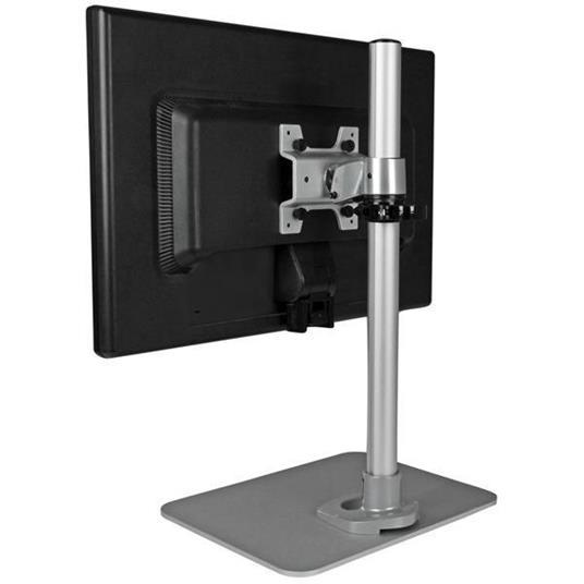 StarTech.com Piedistallo per Monitor LCD LED Schermo Display - Braccio con altezza regolabile e sistema gestione cavi - 4