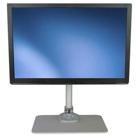 StarTech.com Piedistallo per Monitor LCD LED Schermo Display - Braccio con altezza regolabile e sistema gestione cavi - 5