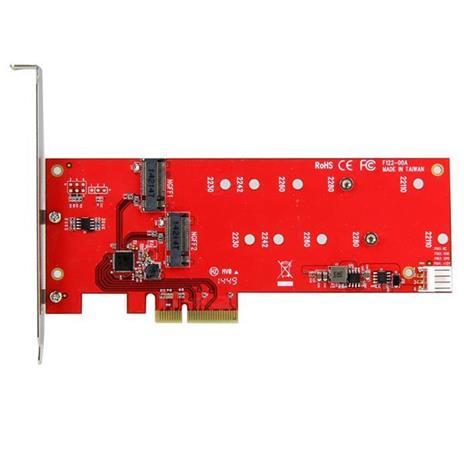 StarTech.com Scheda controller PCI express 2x ( SSD ) M.2 - Adattatore M.2 SATA PCIe NGFF - 2