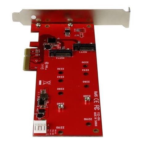 StarTech.com Scheda controller PCI express 2x ( SSD ) M.2 - Adattatore M.2 SATA PCIe NGFF - 3
