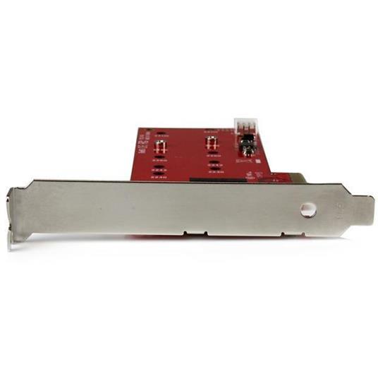 StarTech.com Scheda controller PCI express 2x ( SSD ) M.2 - Adattatore M.2 SATA PCIe NGFF - 4