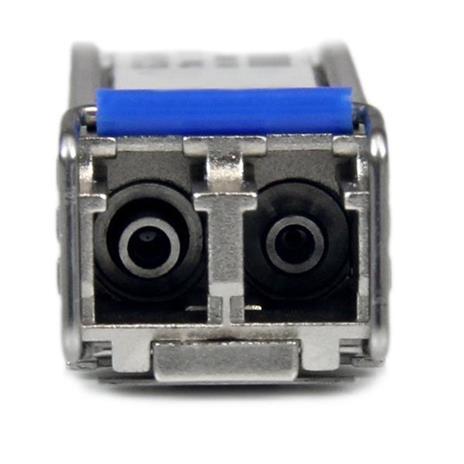 StarTech.com Modulo Ricetrasmettitore Transceiver SFP in fibra - Compatabile HP J4859C - SM/MM LC con DDM - 10km / 550m - Confezione da 10 - 7