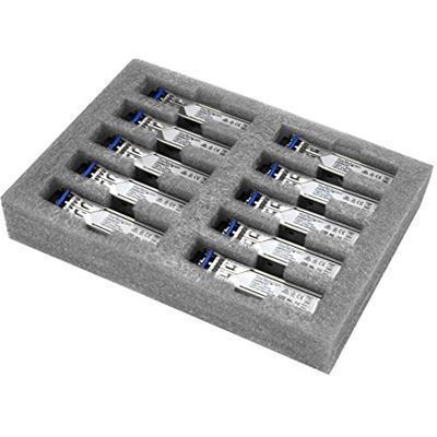StarTech.com Modulo Ricetrasmettitore Transceiver SFP in fibra - Compatabile HP J4859C - SM/MM LC con DDM - 10km / 550m - Confezione da 10 - 4