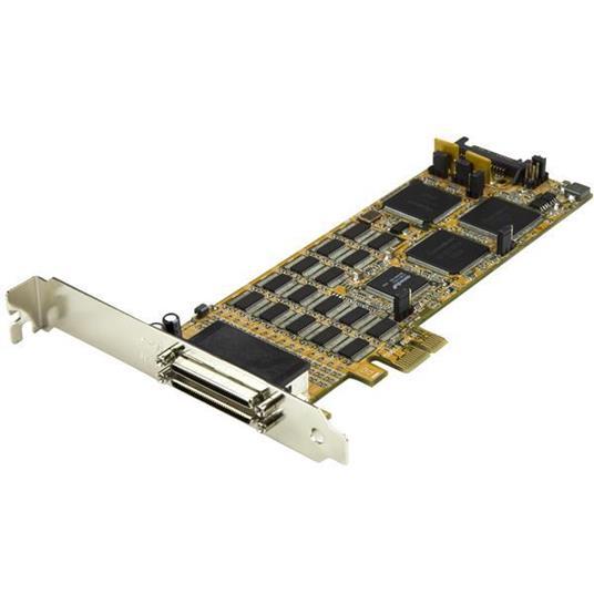 StarTech.com Scheda seriale a basso profilo da 16 porte - RS232 - PCI Express - 2