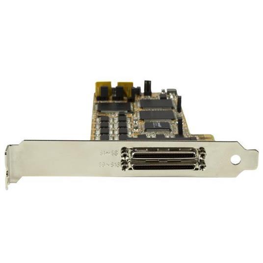 StarTech.com Scheda seriale a basso profilo da 16 porte - RS232 - PCI Express - 3