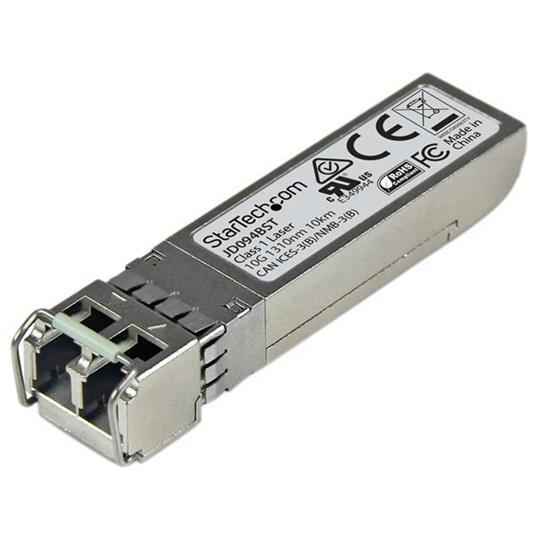 StarTech.com Modulo Ricetrasmettitore 10GBase-LR SFP+ 10 Gigabit Fibre - Compatibile HP JD094B - SM LC - 10 km - 3