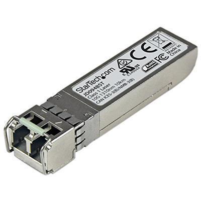 StarTech.com Modulo Ricetrasmettitore 10GBase-LR SFP+ 10 Gigabit Fibre - Compatibile HP JD094B - SM LC - 10 km - 2