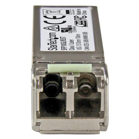StarTech.com Modulo Ricetrasmettitore SFP+ 10 Gigabit Fibre - Compatibile Cisco SFP-10G-LR-S - SM LC - 10Km - 4