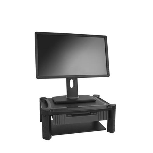 StarTech.com Supporto per Monitor con Tiretto - Altezza Regolabile - 2