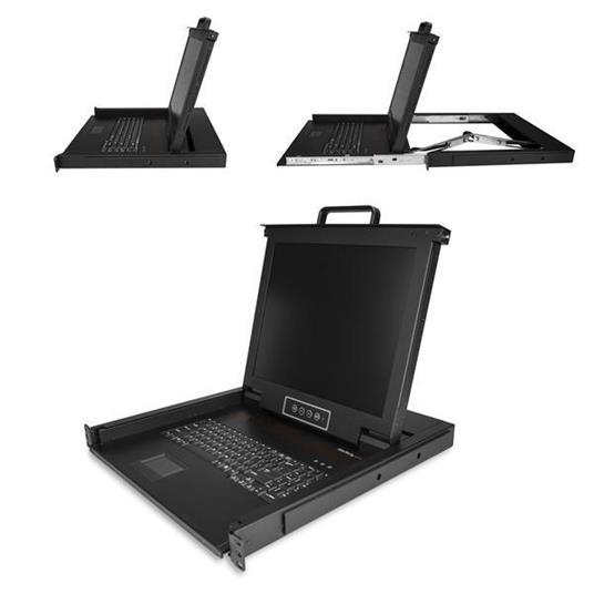 """StarTech.com RKCONS1701 console a rack 43,2 cm (17"""") 1280 x 1024 Pixel Acciaio 1U - 2"""