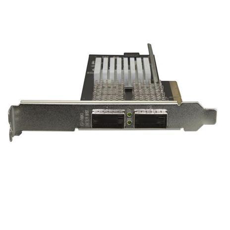 StarTech.com Scheda di rete NIC QSFP+ a doppia porta PCIe - PCI Express - Chip Intel XL710 - 2