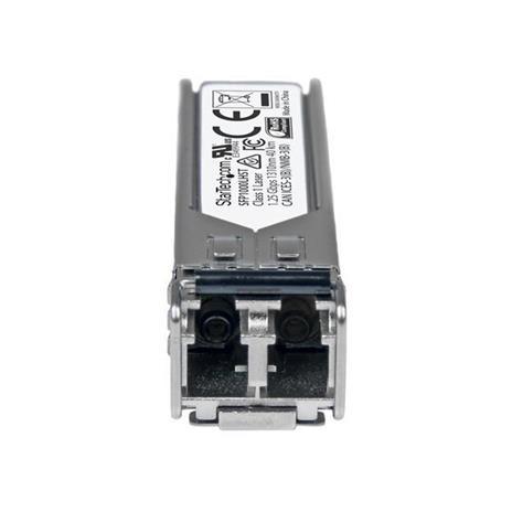 StarTech.com Modulo Ricetrasmettitore SFP in Fibra Gigabit Conforme MSA - 1000Base-LH - 2