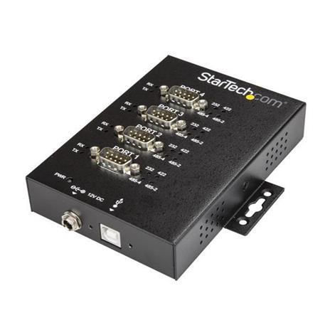 StarTech.com Adattatore Seriale Industriale RS-232/422/485 a 4 Porte USB - Protezione ESD 15kV