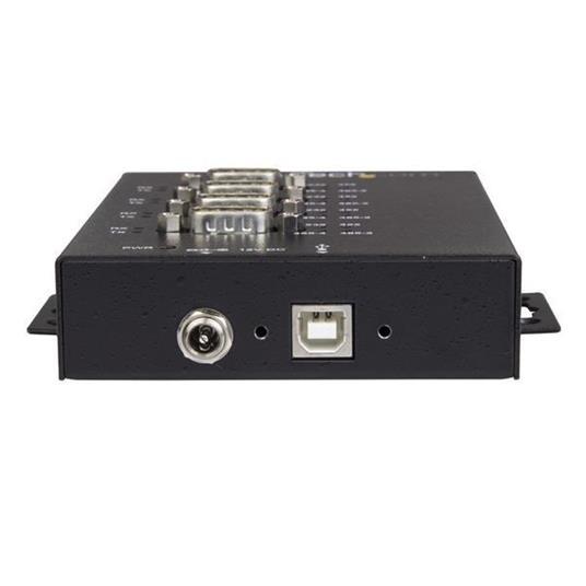 StarTech.com Adattatore Seriale Industriale RS-232/422/485 a 4 Porte USB - Protezione ESD 15kV - 2